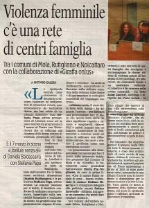 Articolo   La Gazzetta del Mezzogiorno 02 Marzo 2013 mola