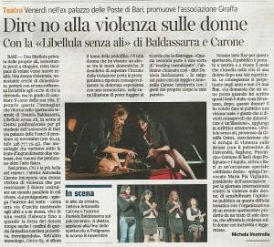 Corriere del Mezzogiorno 23Novembre 2011libellule